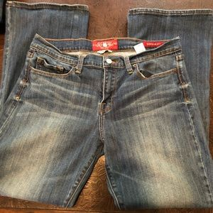 EUC Lucky Brand Sofia Boot 14/32 Ankle Jeans